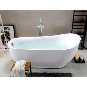 Americh Brisa Builder Series 74 X 44 Drop In Air Whirlpool Bathtub Wayfair