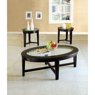 Shirlene 3 Piece Coffee Table Set by Red Barrel Studio