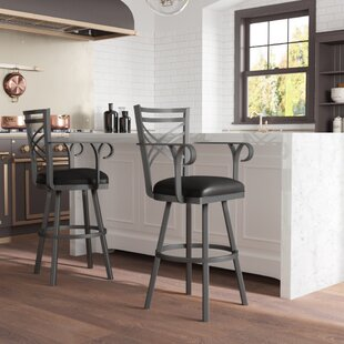 Bewdley 26 Swivel Bar Stool by Winston Porter