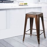 Breaux 24'' Counter Stool by 17 Stories