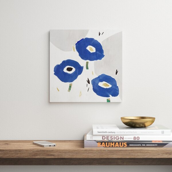 Blue Cluster Ii By Pi Creative Art Picture Frame Print On Paper Allmodern