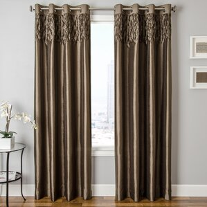 drapes for bedroom. Heger Solid Grommet Single Curtain Panel Master Bedroom Curtains  Drapes Wayfair