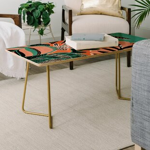 Gabriela Fuente The Tropicana Coffee Table by East Urban Home Savings