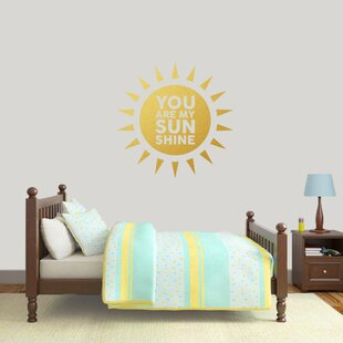 Incroyable You Are My Sunshine Wall Decal