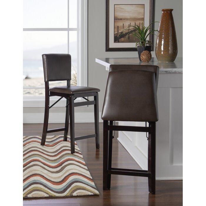 Remarkable Caldwell Folding 25 Bar Stool Uwap Interior Chair Design Uwaporg
