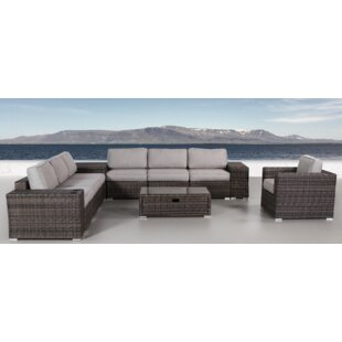 Jabari 12 Piece Sectional Set with Cushions