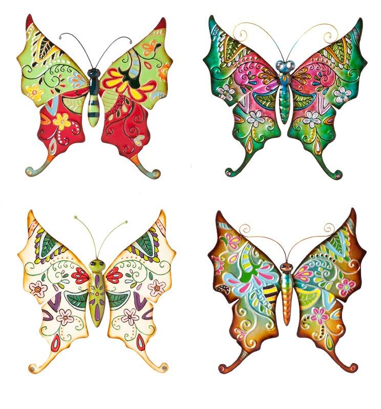boho butterflies wall dcor