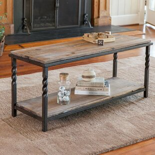 Deep Creek Metal/Wood Storage Bench