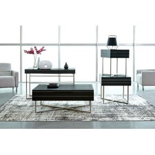 Vera Rectangular 3 Piece Coffee Table Set by Wade Logan
