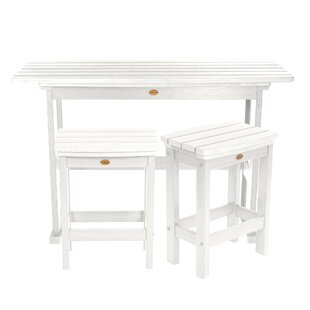 Amelia Balcony 3 Piece Pub Table Set