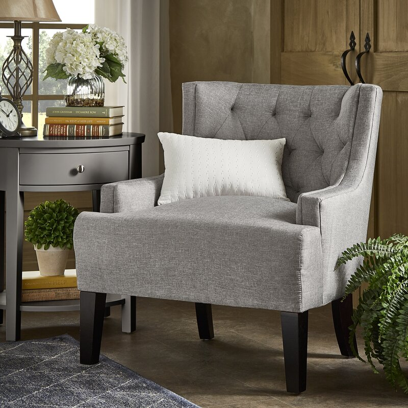 Barwood Tufted Wingback Chair