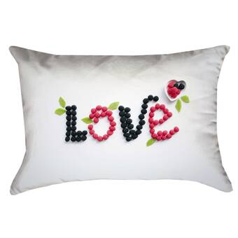 Latitude Run Thang Pastel Landscape Double Sided Print Rectangular Lumbar Pillow With Down Alternative Wayfair