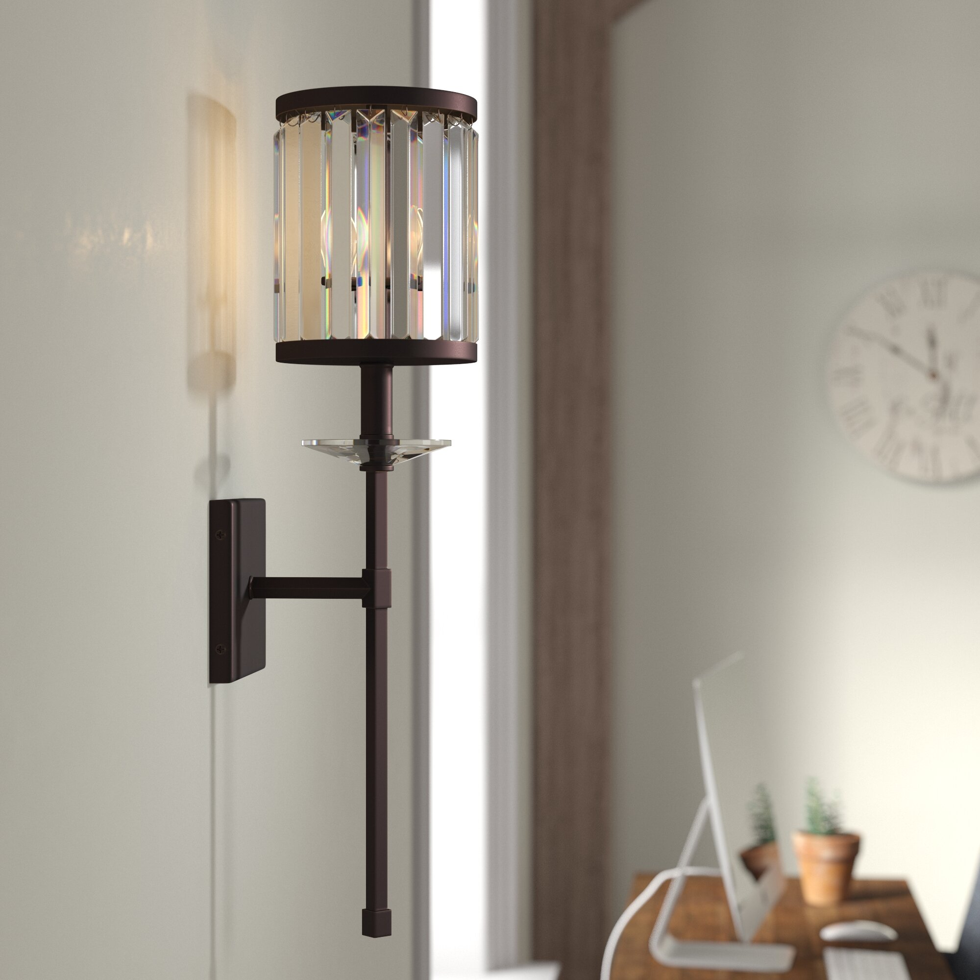 Extra Large 20 Glass Wall Sconces You Ll Love In 2021 Wayfair