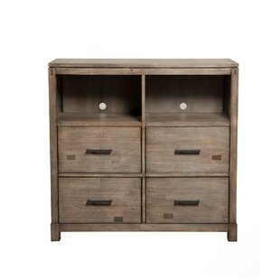 Bonifant TV 4 Drawer Media Chest by Foundry Select Cheap