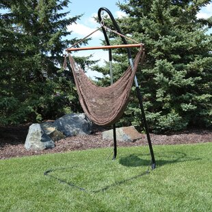 Poe Extra Large Chair Hammock With Stand by Bay Isle Home Spacial Price