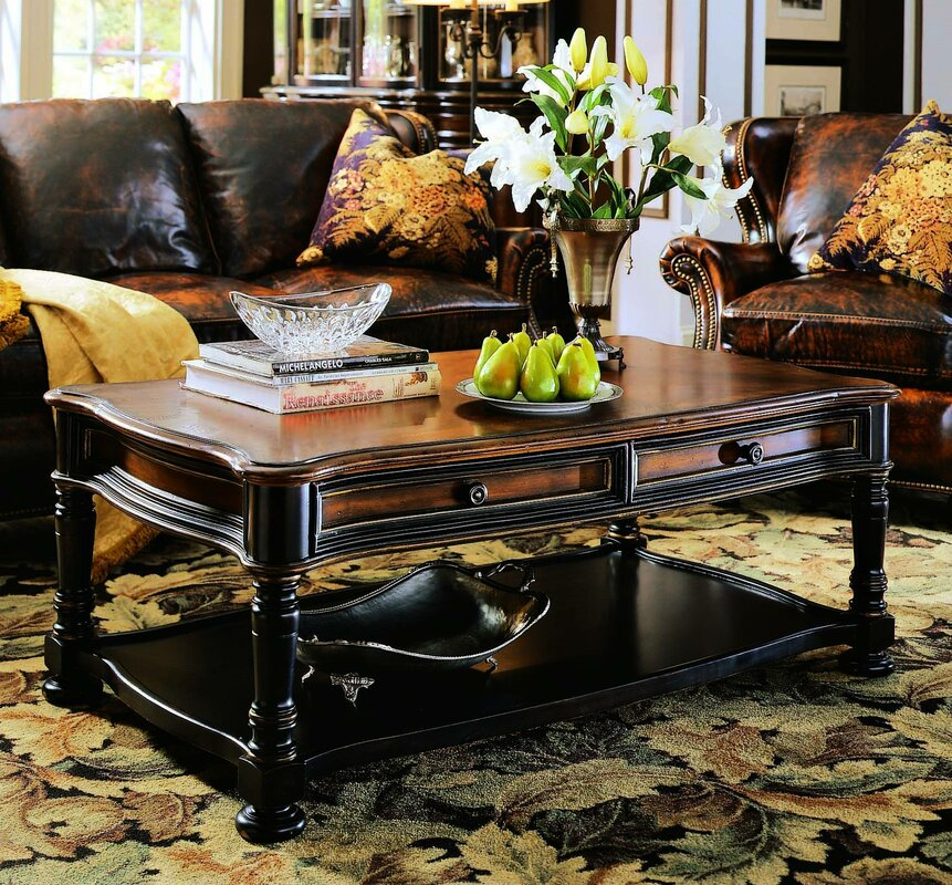 Hooker Furniture Coffee Table Part - 32: Preston Ridge Coffee Table With Storage