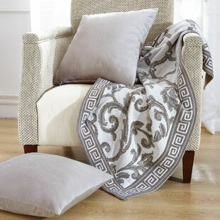 Marisol Knitted Ez Matching Throw Blanket And Pillow Sham Set