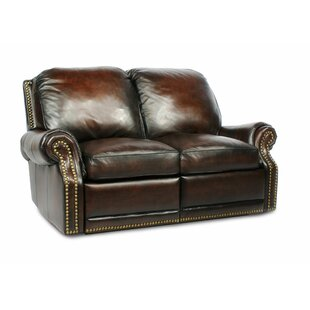 Timmie Leather Loveseat by Canora Grey