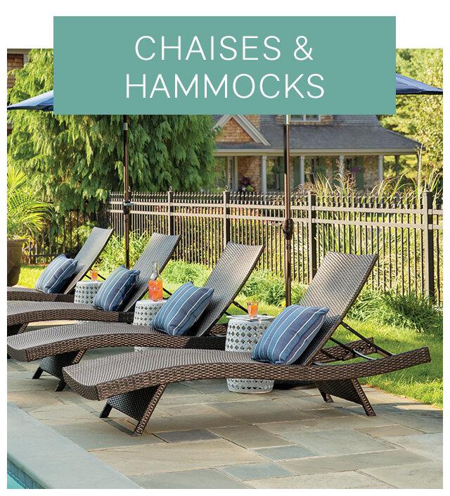 Chaises and Hammocks