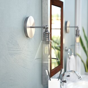 Great deal Whitaker 1-Light Armed Sconce By Trent Austin Design