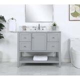 Avyan 42 Single Bathroom Vanity Set by Red Barrel Studio