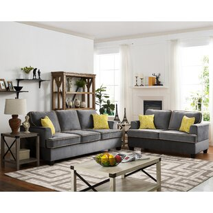Compare & Buy Stecker 2 Piece Living Room Set by Ebern Designs Reviews (2019) & Buyer's Guide