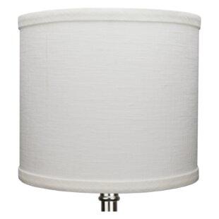 8 Linen Drum Lamp Shade