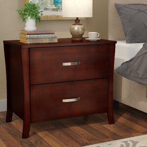 beauregard 2 drawer nightstand by red barrel studio