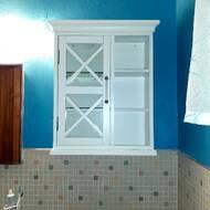 Highland Dunes Duguay 20 W X 24 H X 7 D Wall Mounted Bathroom Cabinet Reviews Wayfair