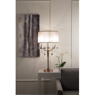 Freman 32 Table Lamp with Drum Shade