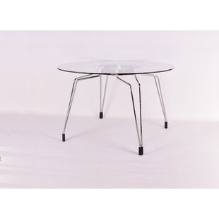 Enos Diamond Dining Table by Orren Ellis #1