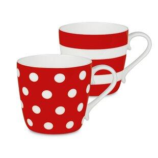 red coffee cups you ll love wayfair