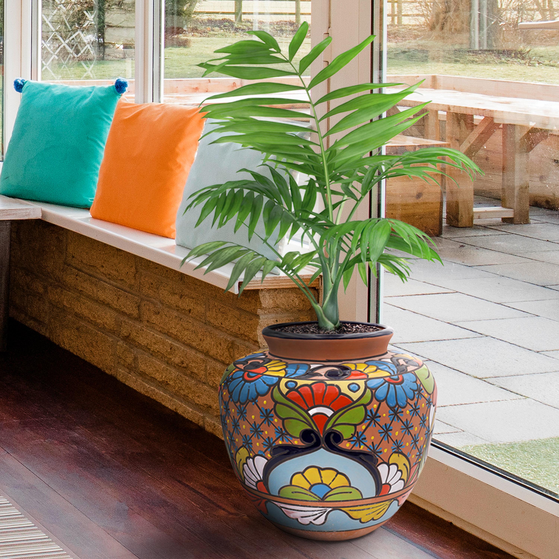 Tierra Firme Tilted Chata Ceramic Pot Planter Reviews Wayfair