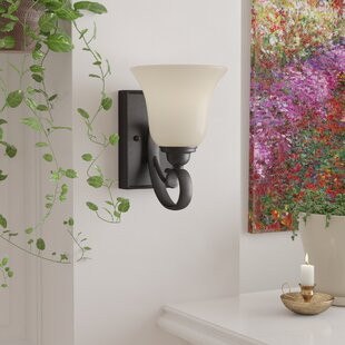 Look for Barbara 1-Light Wall Sconce By Fleur De Lis Living
