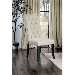 Bromsgrove Upholstered Dining Chair Alcott Hill