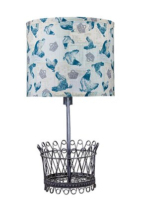 "Mary Janes Farm Basket 24"" Table Lamp Ahs Lighting"