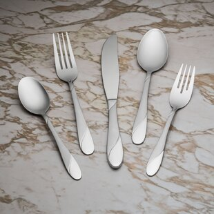 Swirl Sand 20 Piece Flatware Set, Service for 4