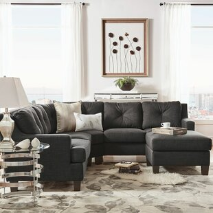 Doane 5 Seat Reversible Sectional with Ottoman