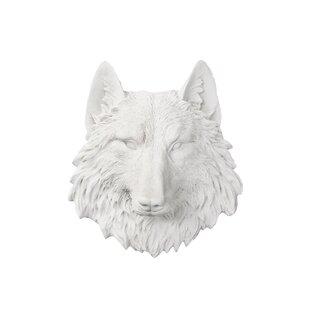 Montana Snowflake Ornament 3 3dRose Beautiful Gray Wolf in Snow