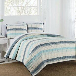 Radford Stripe Reversible Quilt Set