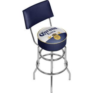 Corona 31 Swivel Bar Stool Trademark Global