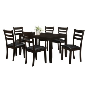 Winnetka 7 Piece Dining Set by Red Barrel Studio Top Reviews