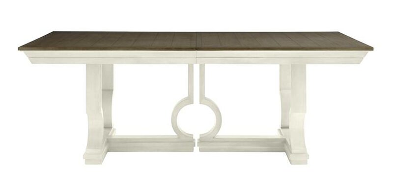 Oasis Moonrise Pedestal Extendable Dining Table