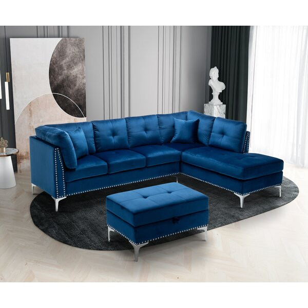 navy blue sectional sofa