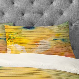 Susanne Kasielke Stripy Collage Pillowcase