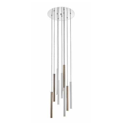 Maxon 9-Light LED Cluster Pendant Metro Lane Finish: Matt Wh