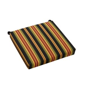 Stripe Outdoor Adirondack Chair Cushion (Set Of 4)