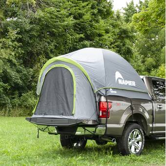 Rightline Gear 110766 5 Foot Mid Size Short Truck Tent 5 -Tall Bed