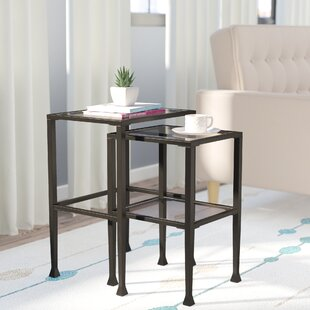 Best Choices Sabrina 2 Piece Nesting Tables By Zipcode Design