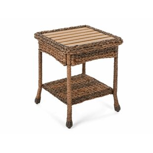 Ophélie Outdoor Faux Sea Grass Garden Patio Table